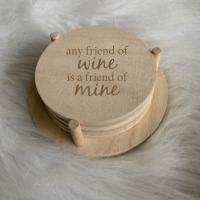 Onderzetters Wine-quotes