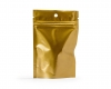 Zipper bag goud